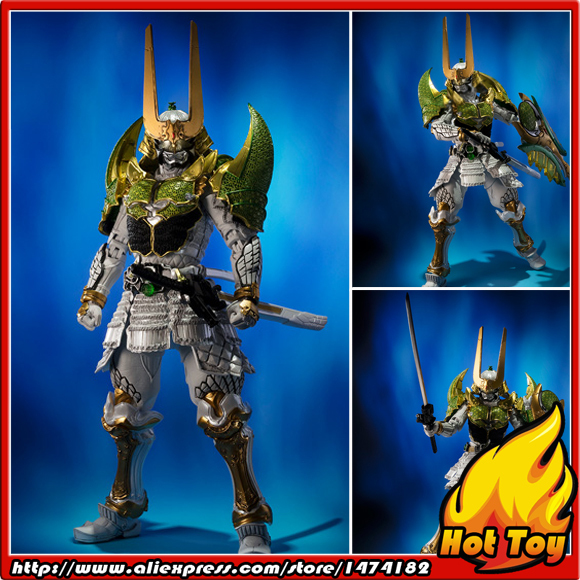 "BANDAI Tamashii initions SIC, Супер творческий CHOGOKIN эксклюзивный фигурку Kamen Rider Zangetsu Melon Arms от ""Gaim"""