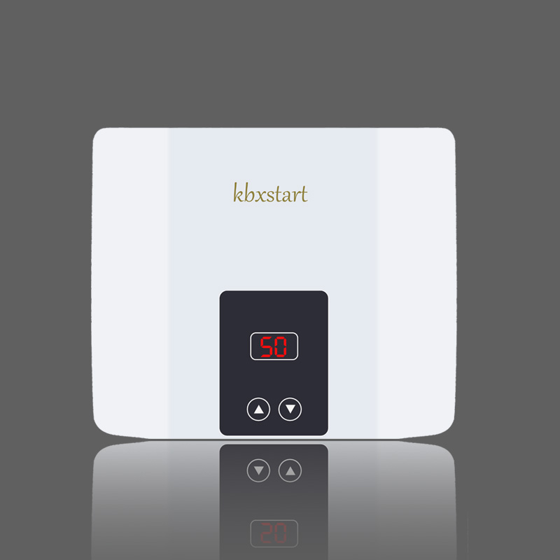 Image 4 - Instant Tankless Electric Water Heater Wall Mounted Water Heater Thermostat Fast Heating Hot Shower For Kitchen Bathroom 5500W-in Electric Water Heaters from Home Appliances