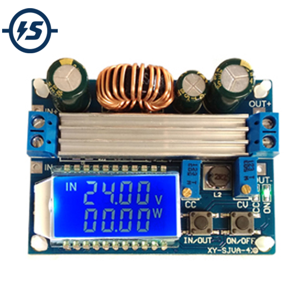 50W DC 5.5V-30V Step Down Buck Step Up Boost Power Supply Module Constant Pressure LCD Digital Display Adjustable Board