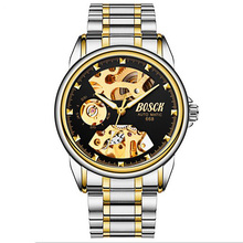 Dropshipping New 2019 Bosck Hot Selling Mens Watch Luxury Full Steel Watches Fashion Quartz Wristwatch Waterproof Mechanical