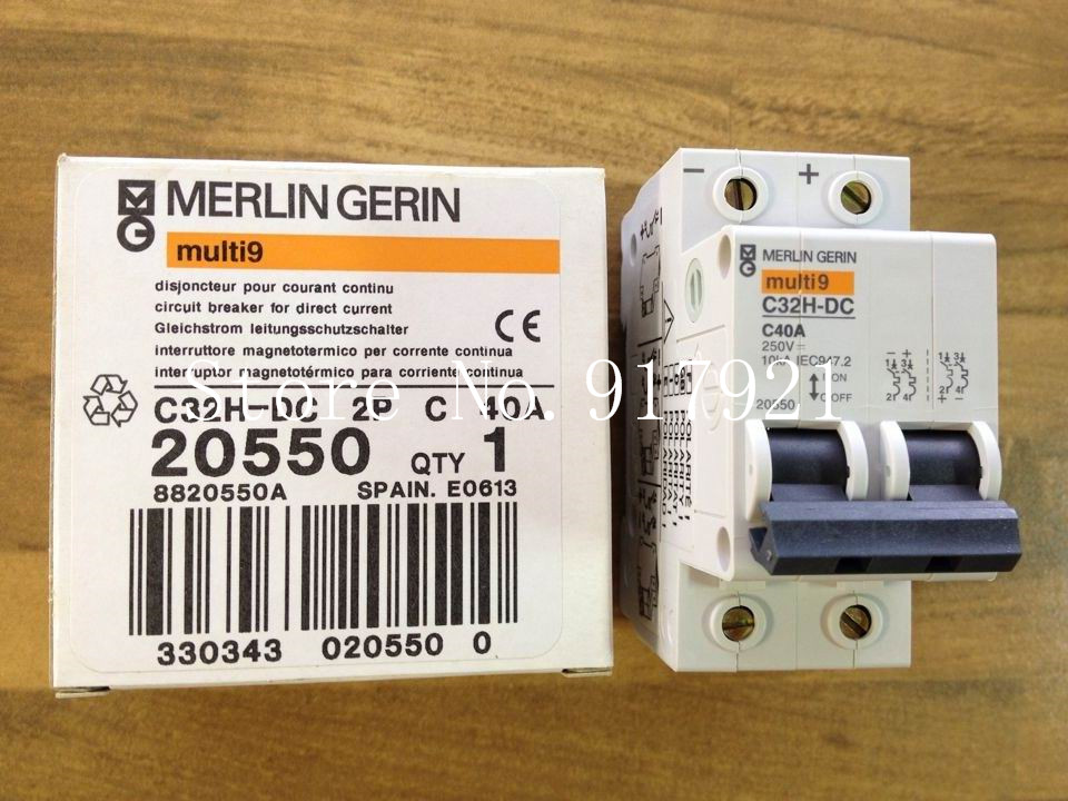 [ZOB] original C32H-DC C40 2P40A DC circuit breaker 20550 --5pcs/lot подвеска 1шт tensor mag lo tens colored green black 5 0 19 см