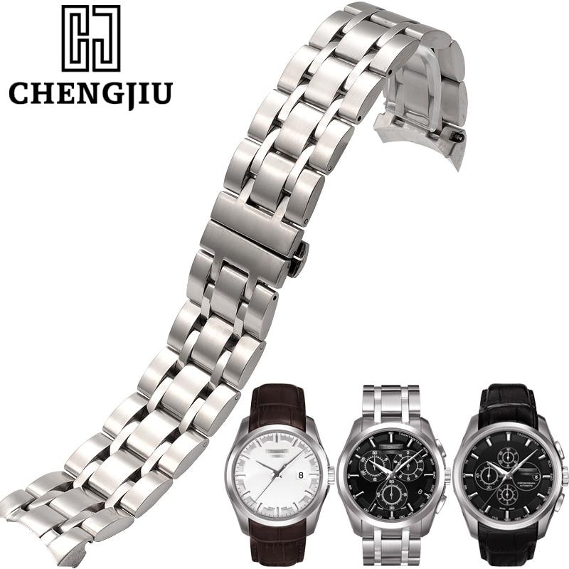 22mm 23mm 24mm Watchband For Tissot 1853 T035627A Watch Strap For Tissot Metal Watch Bracelets Professional Men's Watch Bands tissot t83 4 402 12