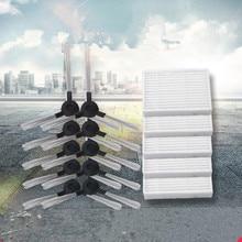 Aspirador de pó hepa filtro escova lateral para midea mr04 robô aspirador peças filtros escovas substituição
