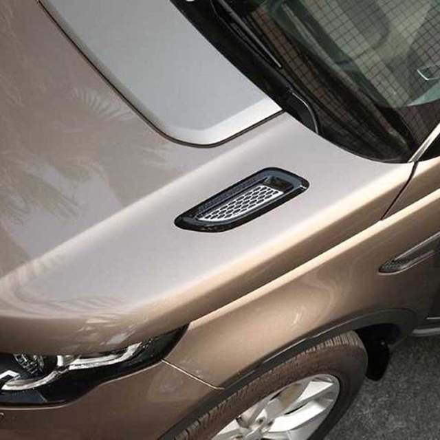 Range Rover Evoque Accessories Online >> Online Shop Engine Hood Air Gills Outlet Vent Cover Trim Sticker For