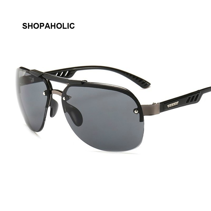 Ladies Black Pilot Sunglasses New Style Sun Glasses Brand Design Women Big Frame Eyewear For Outdoor Shades Goggles Oculos