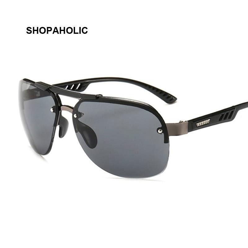 Ladies Black Pilot Sunglasses New Style Sun Glasses Brand Design Women Big Frame Eyewear For Outdoor Shades Goggles Oculos