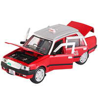 Classic 90's Hong Kong Taxi Children's Toy Car Model Alloy car toy boy car diecast 1:32 new toys for kids 2019