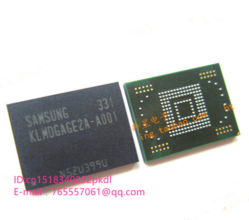 все цены на (1PCS) (2PCS) (5PCS) (10PCS)  100% new original    KLMDGAGE2A-A001   BGA   128G  Memory chip   KLMDGAGE2A A001 онлайн