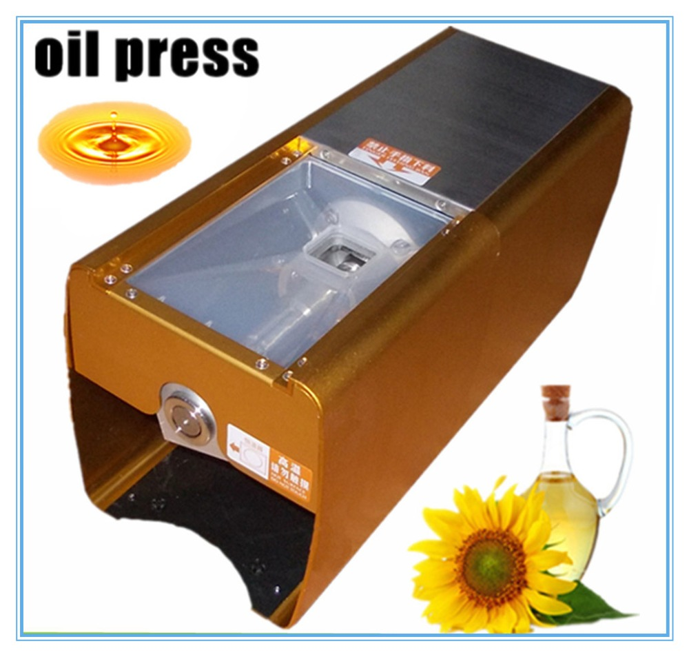 Small Home Nut Almond Cocount seed oil press machine   cold hot press commercial