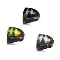 F0016 FMA Black & Gray Frame FMA F1 Outdoor Sports Safety Anti fog Goggle/Full Face Mask Free Shipping