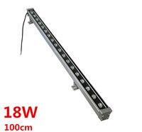 4pcs/lot Free Shipping AC85~265V/12V/24V High power led 18W LED Wall Washer Light Led flood light waterproof led lamp