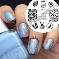 BORN PRETTY Nail Stamp Templates Happy Easter Bunny Egg Pattern Nail Art Image Stamping Plates Manicure Nail Decoration BP-60