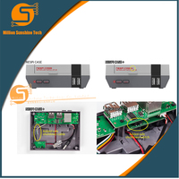 Upgrade Version NESPi Case Raspberry Pi 3 Model B Classical NES Style Case Game Console For