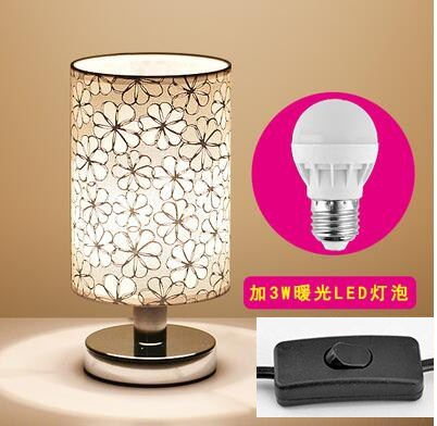 led lamp desk table lamp bedroom creative fashion iron moder