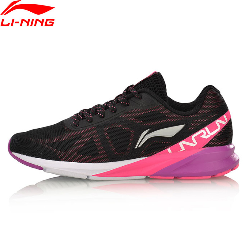 Li-Ning Women Colorful Cushion Running Shoes Breathable Wearable LiNing Sport Shoes Sneakers ARHM054 XYP566
