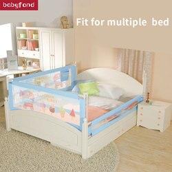 KOOLDOO Bett sicherheit Zaun Baby Anti Herbst Schutz Zaun Baby Bett zäune Vertikale Aufzug Bett Leitplanke Universal Schallwand