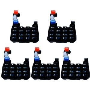 Image 2 - 10PCS Baofeng 무전기 UV5R 숫자 키패드 키보드 Pofung 양방향 라디오 UV 5R UV 5RA UV 5RC UV 5RE 시리즈