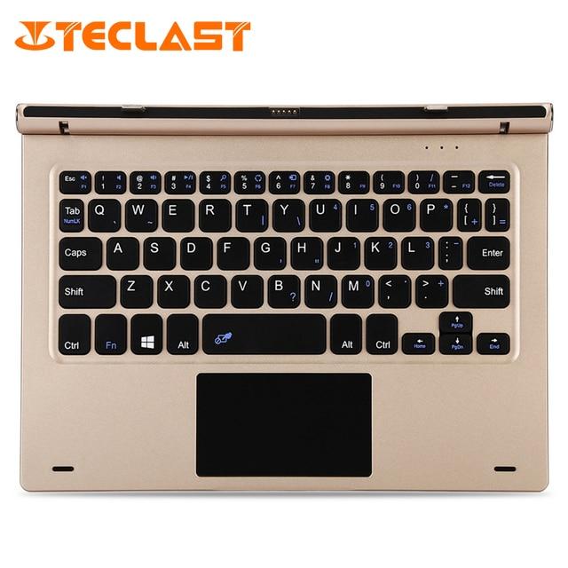 Для Teclast tbook 10 s Планшеты PC 10.1 дюймов док-клавиатура Магнитный док-pogo Булавки вращающийся клавиатура с корпусом из русский