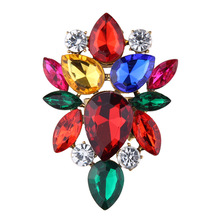 Colorful Crystal Adjustable Rings for Women Fashion Charm Wedding Party Engagement Ring Maxi Statement Jewelry Open Rings Women