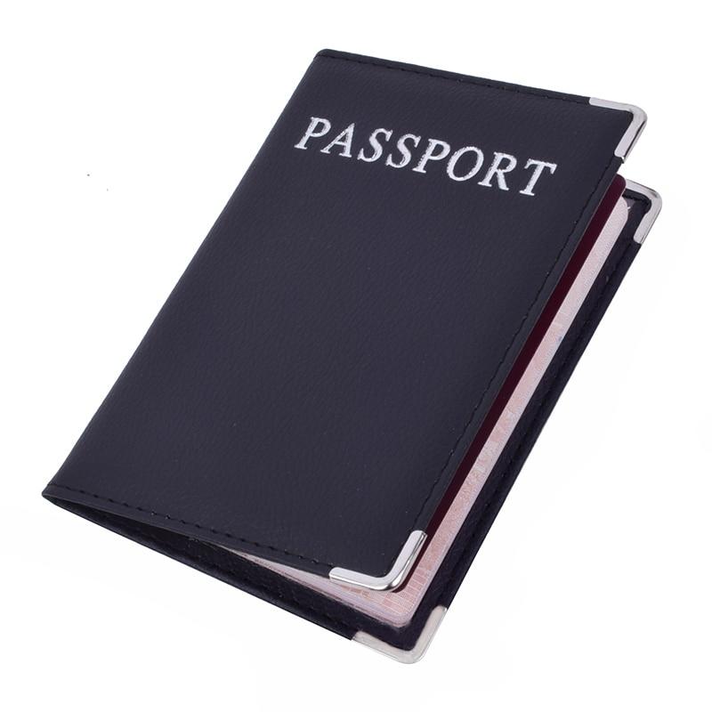 Pu Leer Paspoort Cover Leuke Visitekaarthouder Pouch Voor Reizen Portemonnee Russische Netherland Paspoort Case Vrouwen Roze
