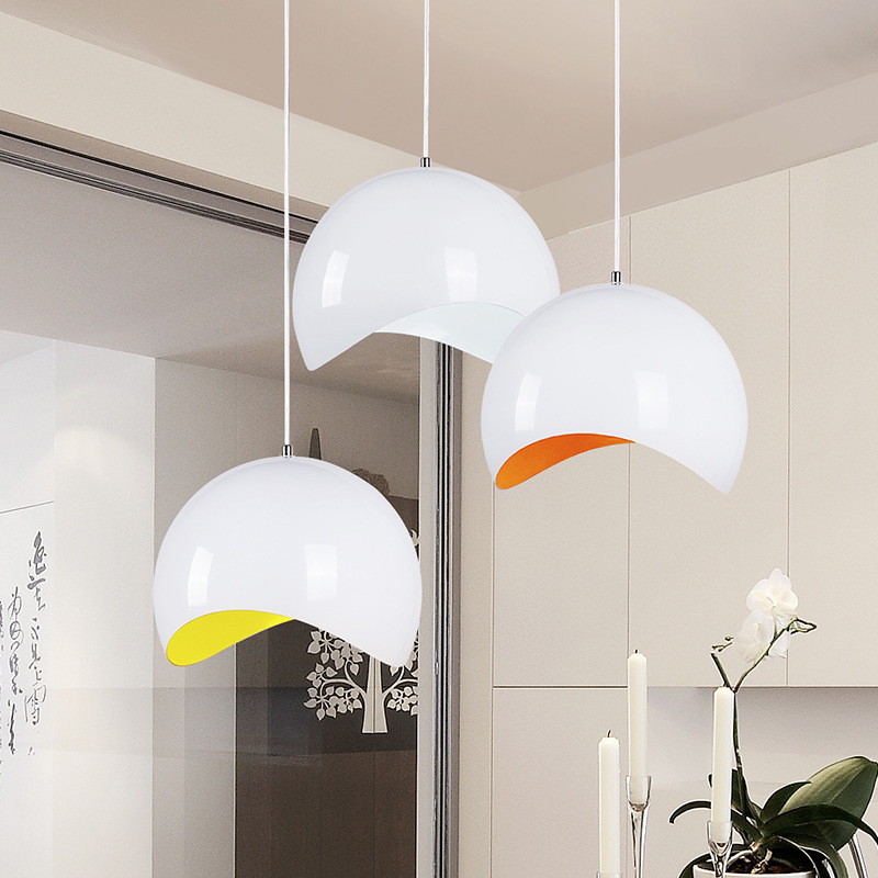 Led Restaurant Modern Minimalist Dining Room pendent Lamp Single head Personality Creative Bar hotel decoration lights A205 z best price minimalist restaurant bar chandelier single head lamp creative balcony flower pot lamp hanging garden lightings