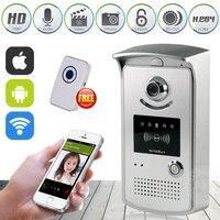 HD 720P Wifi Doorbell Camera Wireless Video Intercom Phone Control IP Door Camera Wireless Door Bell