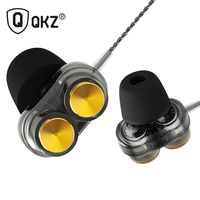 QKZ KD7 Dual Dynamic Driver Professional In Ear Earphone With 4 Driver Inside Fone De Ouvido