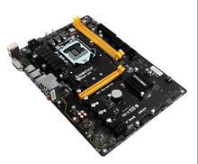 New in box 6PCIE for Biostar TB250-BTC TB250 1151 DDR4 mining board (alternative H81 BTC PRO TB85 H81A)