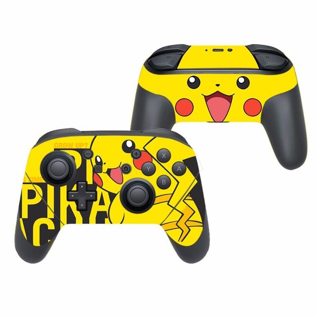 Pokemon Pegatina Vinilo Temática Pikachu para Nintendo Switch Pro Controlador