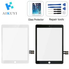For 9.7 iPad 2018 Touch Screen 6 6th A1893 A1954 Digitizer Display Front Outer Panel Glass Assembly Replacement