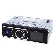 1din Auto Radio Coche MP3 Stereo Bluetooth Lettore Autoradio Con Controllo A Distanza AUX-IN Lettore Audio USB SD Porta Elettronica per l'auto