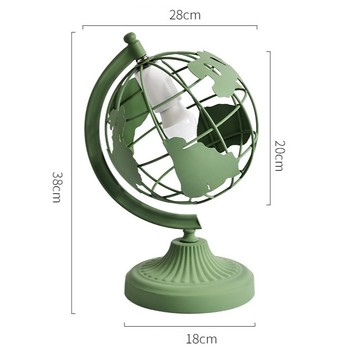 Modern Creative Earth Instrument Table Lamps For Living Room Led Bed Lamp Bedside Light Table Light Tafellamp Lamps E27 Art Deco