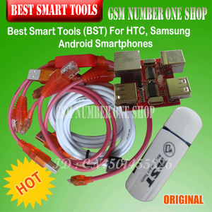 Image 1 - gsmjustoncct BST dongle for HTC SAMSUNG xiaomi unlock screen S6 S3 S5 9300 9500 lock repair IMEI record date Best Smart  dongle
