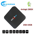 Hot MX95 PRO Android 6.0 TV BOX 2G/16G Amlogic S905X Media Player Fully TV 16.1 BT4.0 Dual Wifi Quad core Set Top TV Box
