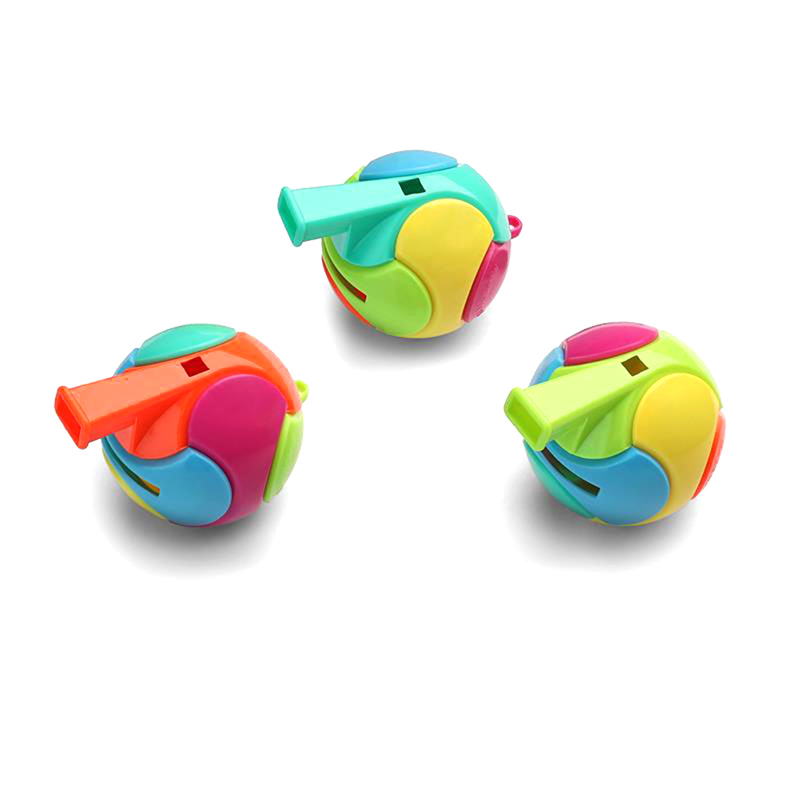1 Pc Pädagogisches Spielzeug Fußball Pfeife Montiert Spielzeug Für Kinder Geschenke