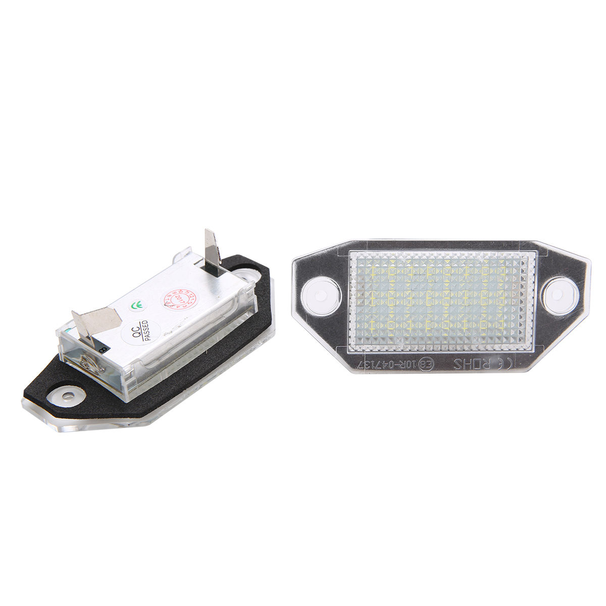 2pcs/set 12V 24LED White Number License Plate Light Built-in Canbus Controller Lamp Fit For Ford Mondeo MK3 2000-2007