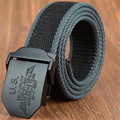 Tactical belt Men women Military canvas body Width 3.8CM Thickness 4MM Length 110/140/160CM Fashion brand Designers high quality