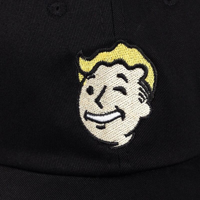 100% Cotton Pip Boy Fallout 4 Baseball Cap Fallout Shelter Dad Hat ... 000ebdca6bb3