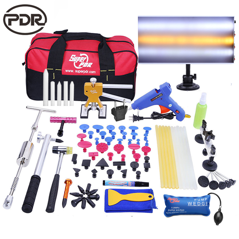 Super PDR Kit Paintless Dent Repair Dent Removal Tools To Repairing Dents New Led Lamp Reflector Board Sucker Dent Puller Tools infant multifunctional rattles bed stroller mobile baby toys newborn cartoon dog hanging grasp educational toy crib baby rattle