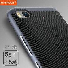 Case Для Xiaomi MI5S MI5SPlus ТПУ + PC Силиконовые luxury Обложка полная Защита Случаях Рамка Shell Mi 5S Плюс Оригинальный Мобильный телефон