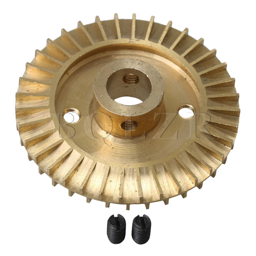 Bqlzr Doppelseitigen Einzelnen Flache Wasserpumpe Laufrad Ersatz Teile 60mm Dia Messing Novel Design; In