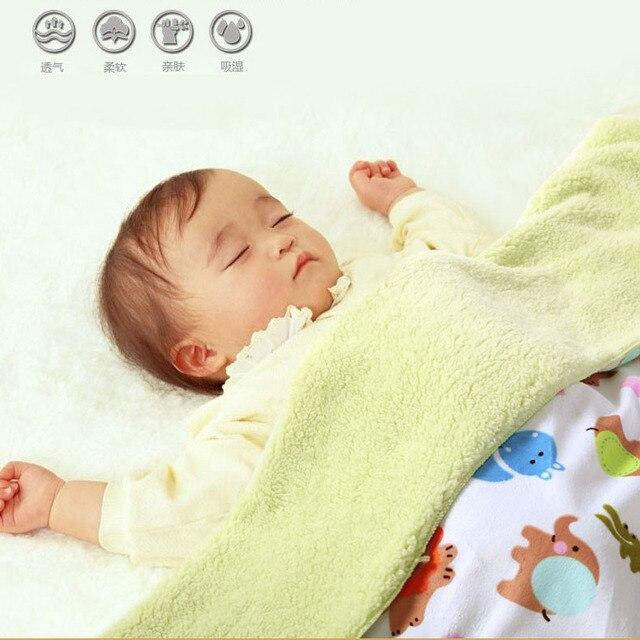 2016 новые младенческой новорожденных мальчиков девушки детское одеяло короткий сон кондиционер одеяло Весна лето милый мультфильм детские одеяла