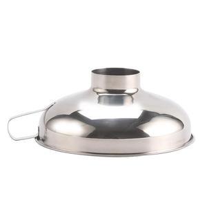 Image 2 - Adeeing Roestvrij Staal Brede Mond Trechter Inblikken Hopper Filter Voedsel Pickles Trechter Keuken Gadgets Kookgerei