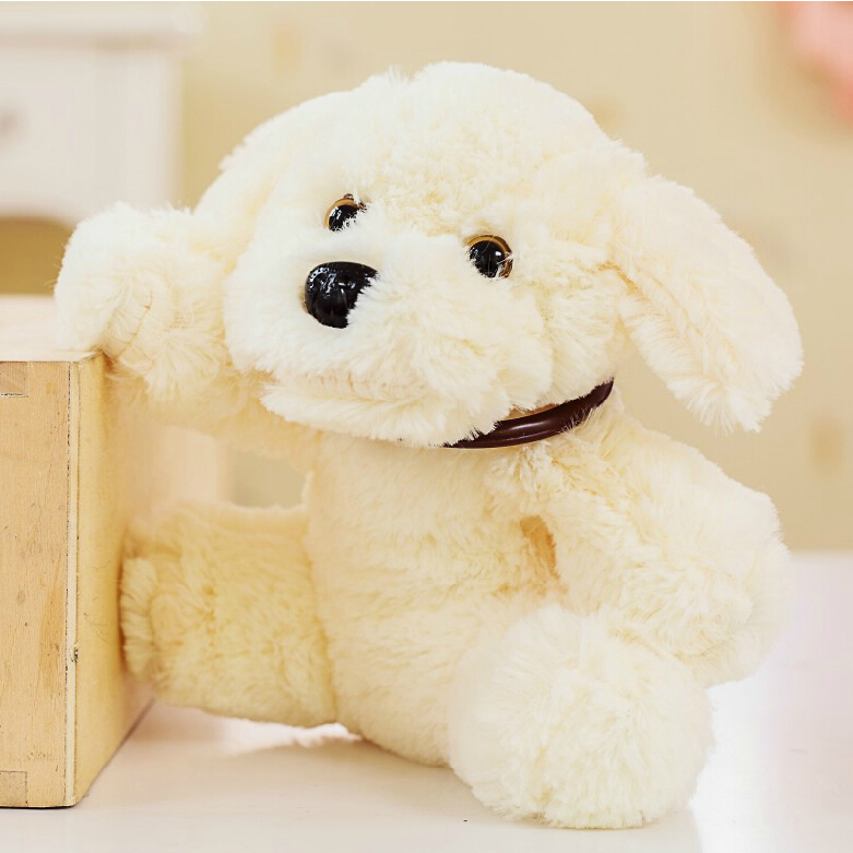 Cute Staffed Xiang Xiang Dog Toy Doll Soft Animal Lying Dog Plush Toy Childrens Day Gift