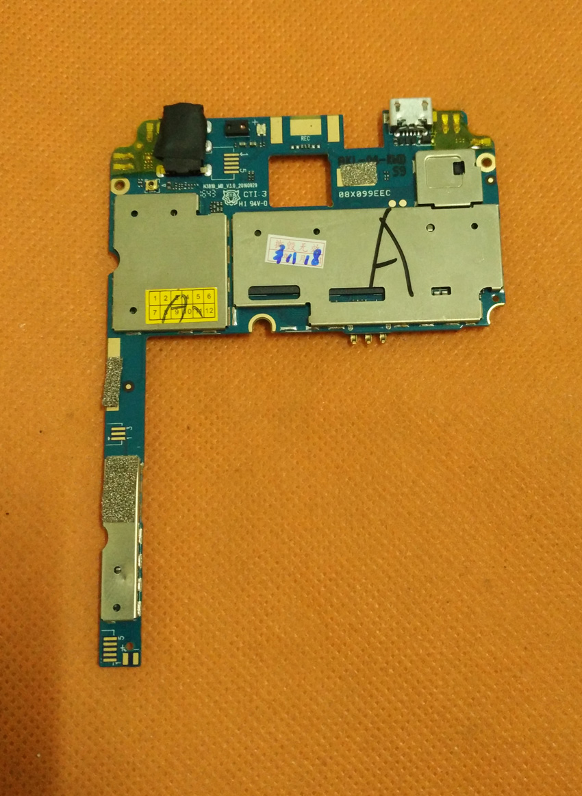Used Original mainboard 2G RAM+16G ROM Motherboard for DOOGEE X9 Pro MTK6737 Quad Core 5.5HD Free shipping