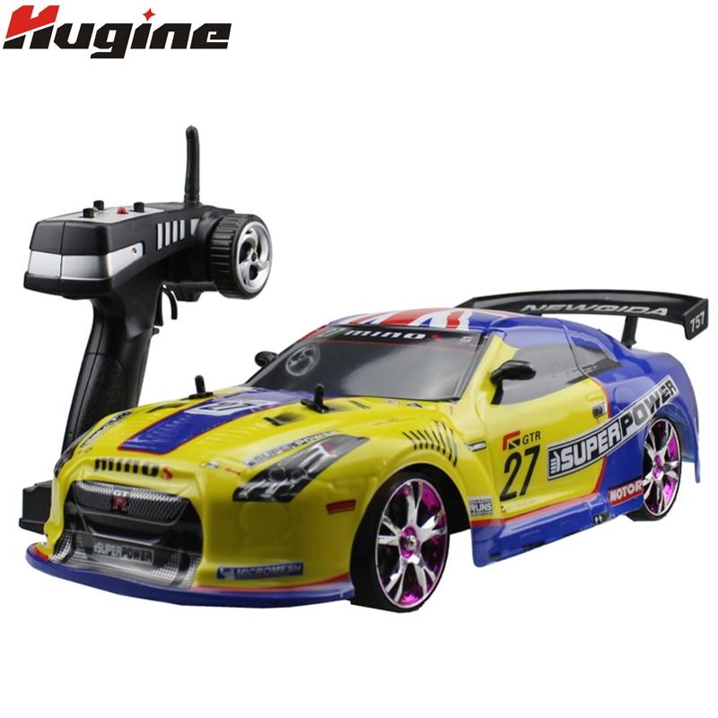 Grande voiture RC 1:10 voiture de course à grande vitesse pour Nissan GTR championnat 2.4G 4WD radiocommande Sport dérive course jouet électronique