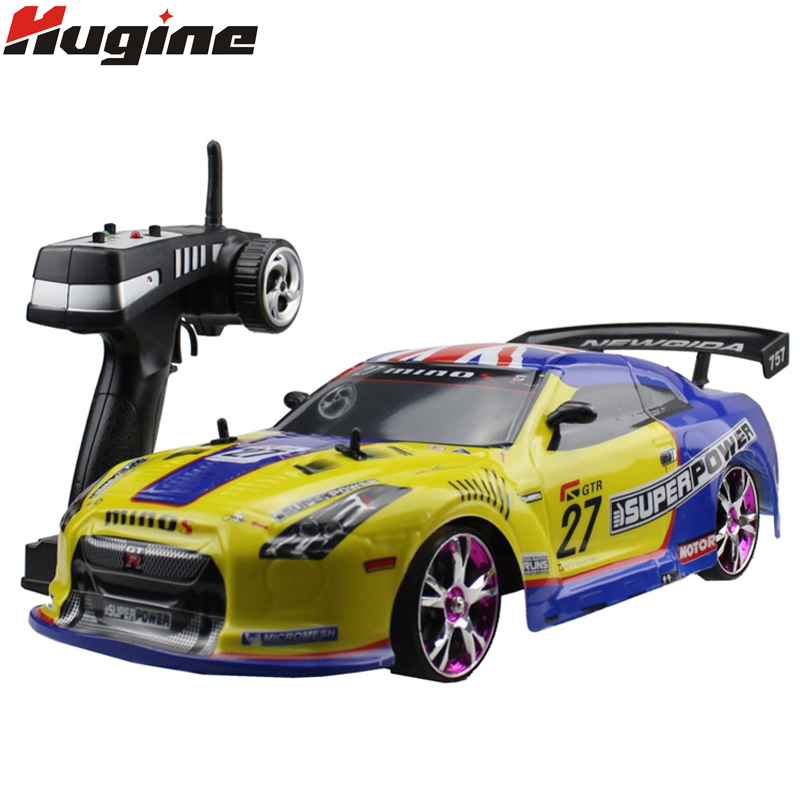 Large RC Car 1:10 High Speed Racing Car For Nissan GTR