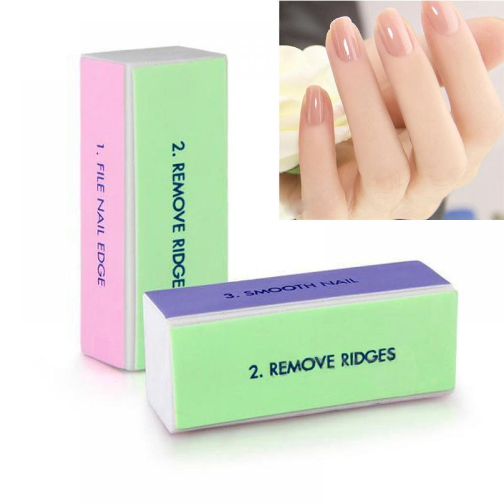1PC Sanding Nail File Buffer Block Nail Art Manicure 4 Way Shiner Buffer Buffing Block Sanding File Nail Art Tools Manicure