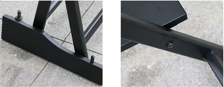 Hög aluminiumsram Makeupartist Direktör Stol Vikbar utomhusmöbler - Möbel - Foto 4