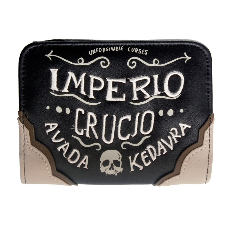 Frauen Brieftaschen Imperio Crucio Avada Kedavra Geldbörse 6736A